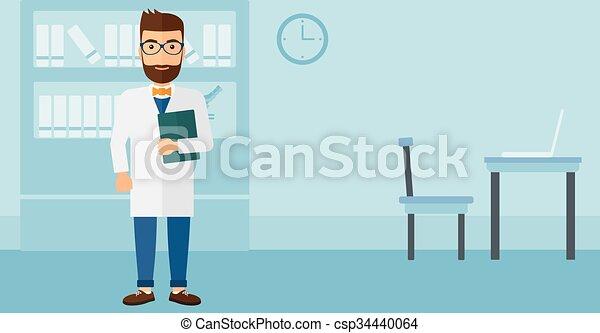 オフィス。, 医者 - csp34440064