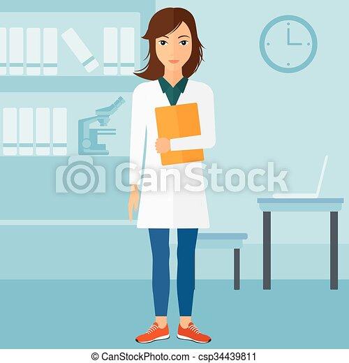 オフィス。, 医者 - csp34439811
