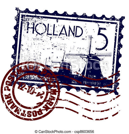 オランダ, イラスト, 隔離された, アイコン, ベクトル, 単一 - csp8603656