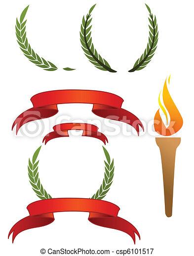 オリンピック, サイン - csp6101517