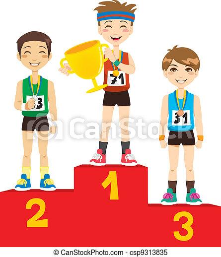 オリンピック, 勝者 - csp9313835