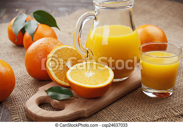 オレンジジュース - csp24637033