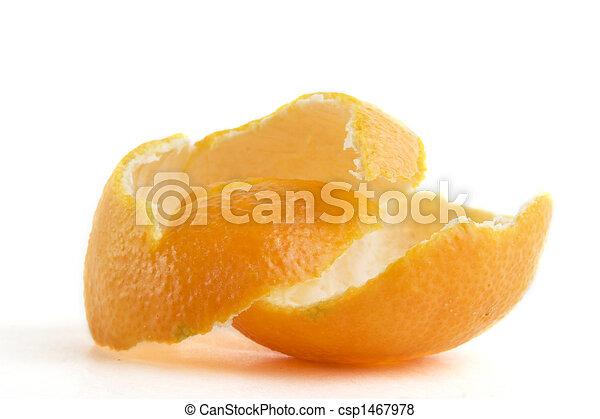 オレンジ皮 - csp1467978
