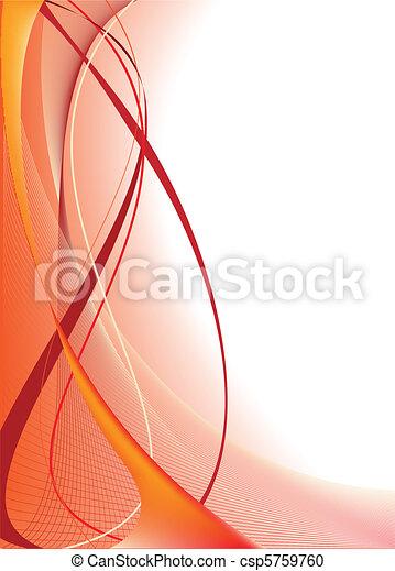 オレンジ背景, 抽象的 - csp5759760