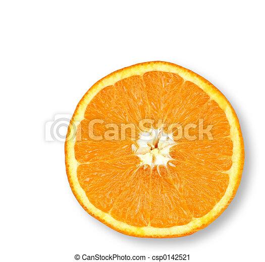 オレンジ, 水分が多い - csp0142521