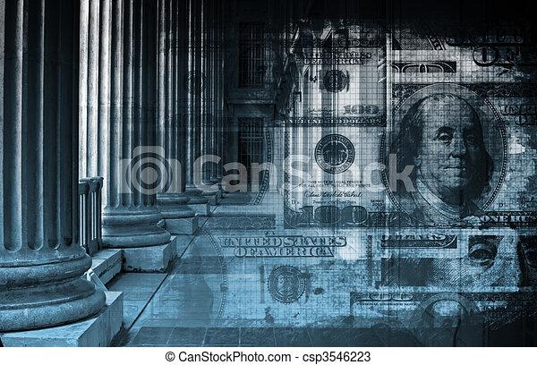 オンラインの銀行業務 - csp3546223