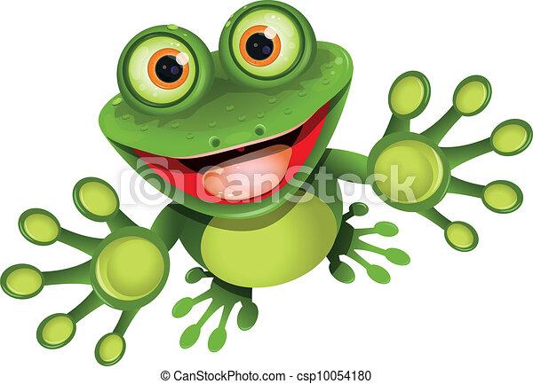 カエル, 幸せ - csp10054180