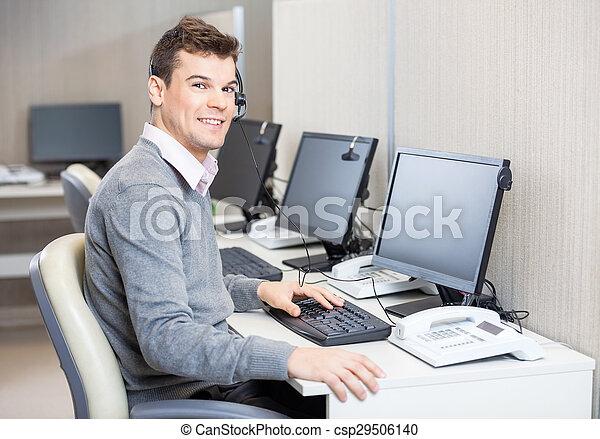 カスタマーサービス, オフィス, 仕事, 代表者 - csp29506140