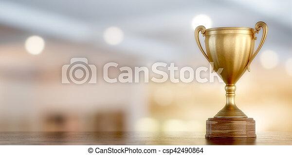 カップ, 金, 勝者 - csp42490864