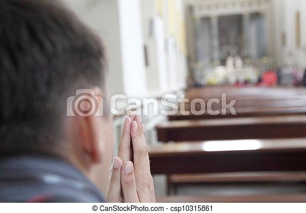 カトリック教, 教会 - csp10315861