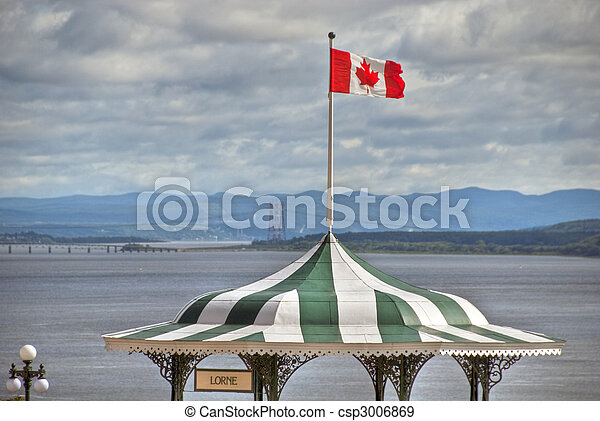 カナダ, ホテル, de, ケベック, frontenac - csp3006869