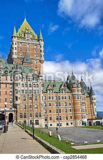 カナダ, ホテル, de, ケベック, frontenac - csp2854468