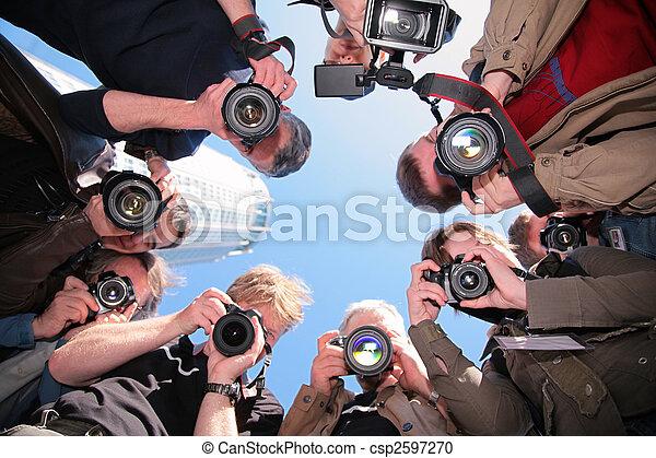 カメラマン, オブジェクト - csp2597270