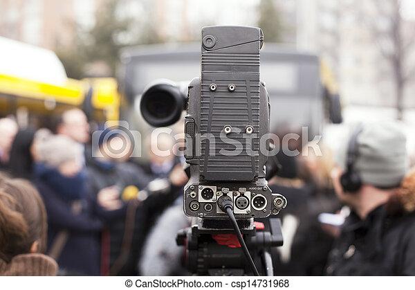 カメラ, ビデオ - csp14731968