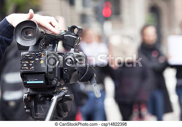 カメラ, ビデオ - csp14822398