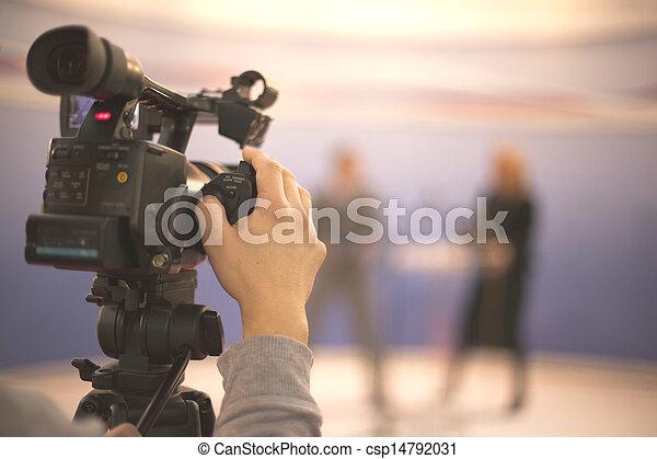 カメラ, ビデオ - csp14792031