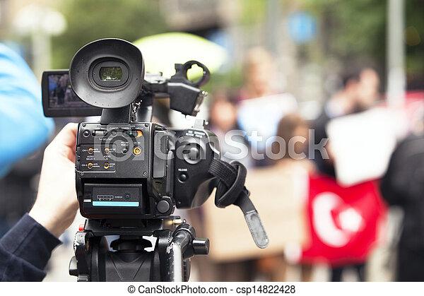 カメラ, ビデオ - csp14822428
