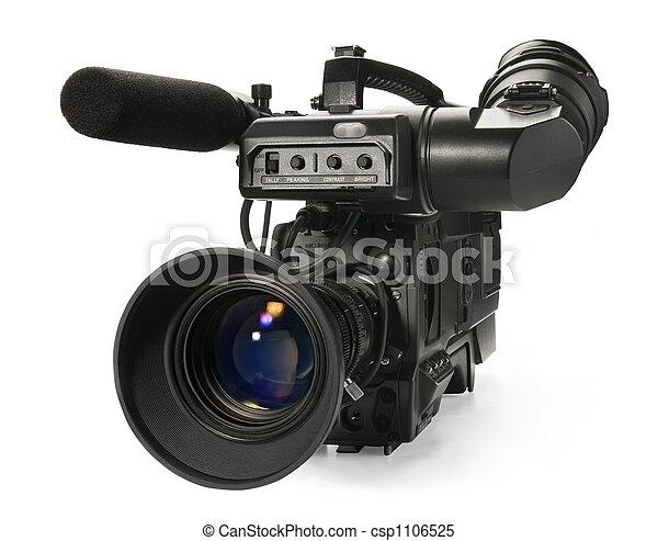 カメラ, ビデオ, デジタル - csp1106525