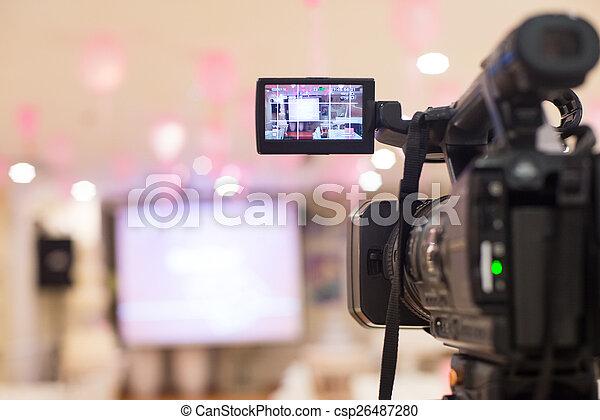 カメラ, ビデオ - csp26487280