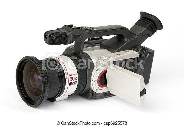 カメラ, ビデオ - csp6925578