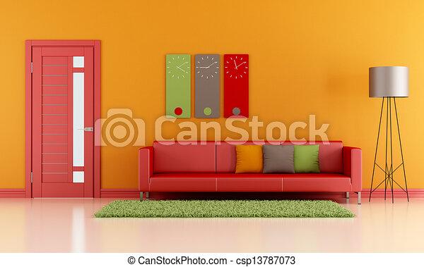 カラフルである, 部屋, 暮らし - csp13787073