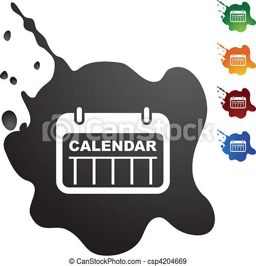 カレンダー - csp4204669