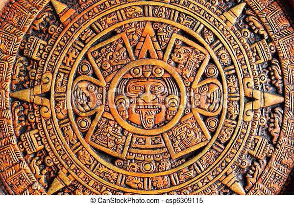 カレンダー, aztec - csp6309115
