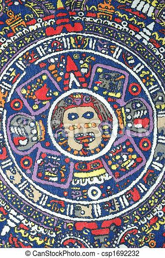 カレンダー, aztec - csp1692232