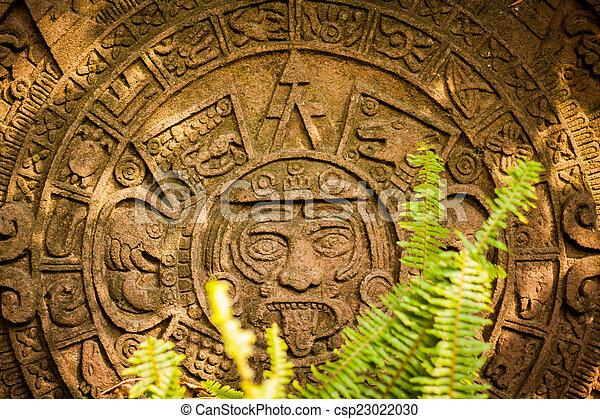 カレンダー, mayan, aztec - csp23022030