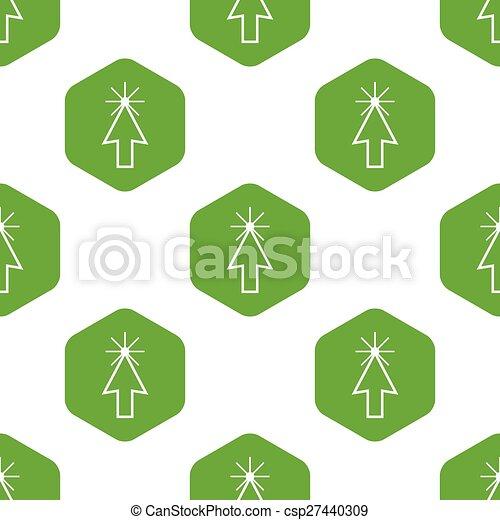 カーソル, パターン, 矢 - csp27440309