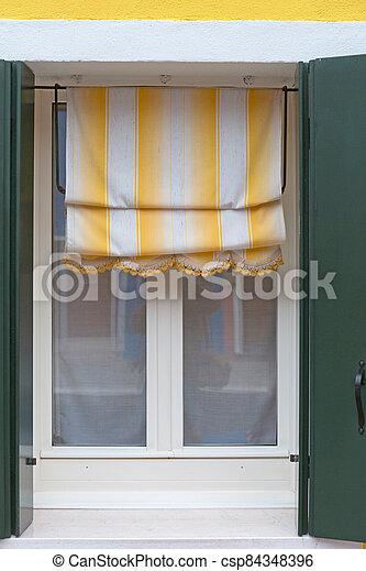 カーテン, 窓 - csp84348396