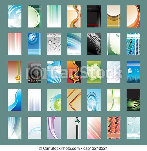 カード, コレクション, ビジネス - csp13248321