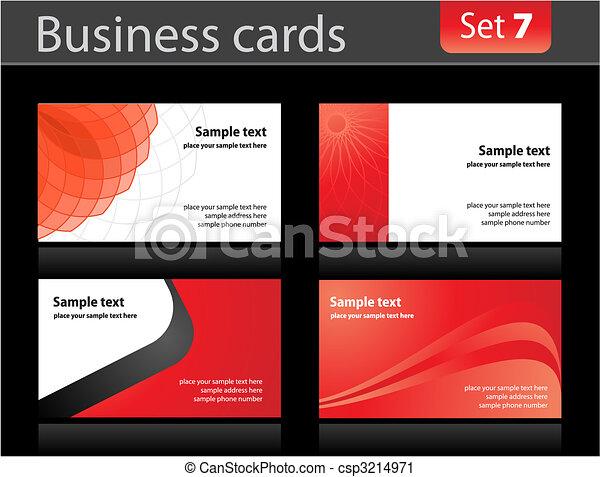 カード, テンプレート, ビジネス - csp3214971