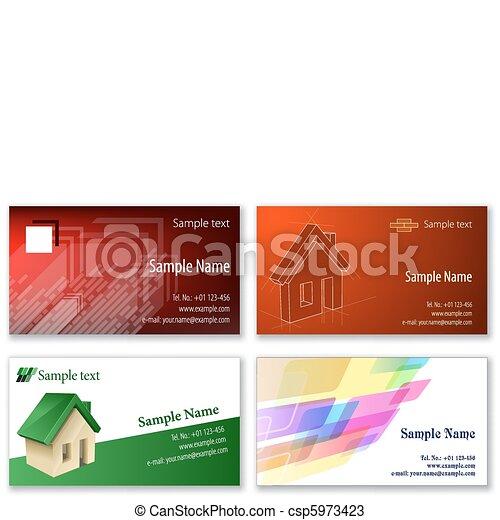 カード, ビジネス, テンプレート - csp5973423