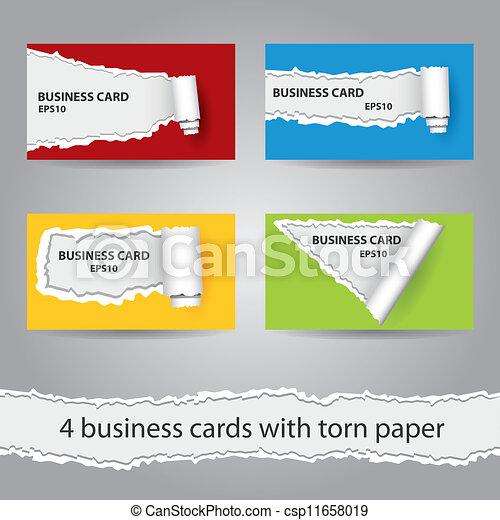 カード, ビジネス - csp11658019
