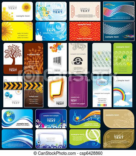 カード, ビジネス - csp6428860