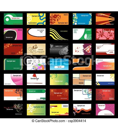 カード, 様々, ビジネス - csp3904414