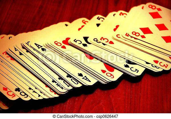 カード, 遊び - csp0626447