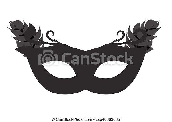 Eps10 カーニバル 仮面舞踏会の マスク イラスト ベクトル アイコン