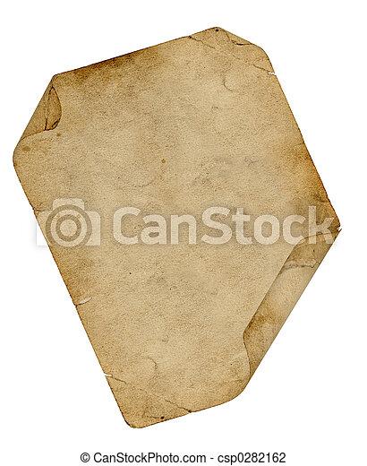 カール, 羊皮紙 - csp0282162