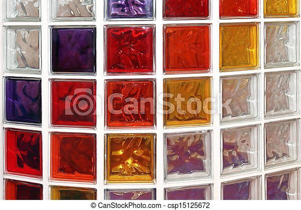 ガラスブロック - csp15125672