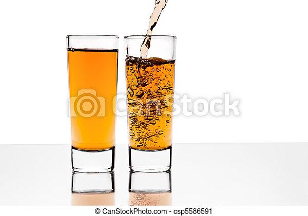 ガラス, アルコール, 2 - csp5586591