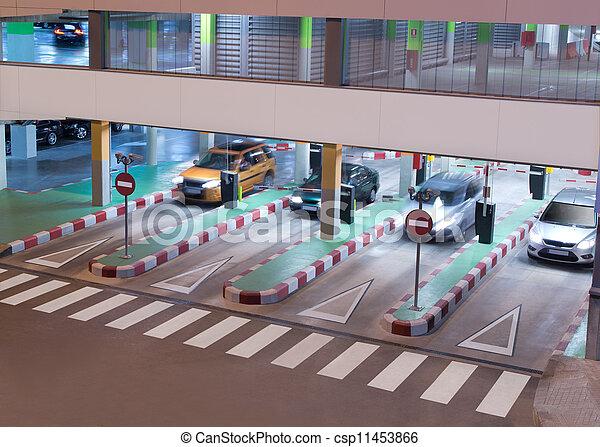 ガレージ, 駐車 - csp11453866