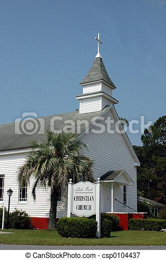 キリスト教徒, 教会 - csp0104437