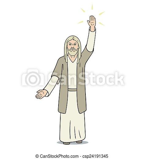 キリスト, イエス・キリスト - csp24191345