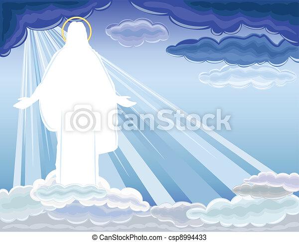 キリスト, 復活, リーセン, - - csp8994433