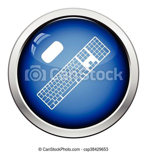 キーボード, アイコン - csp38429653