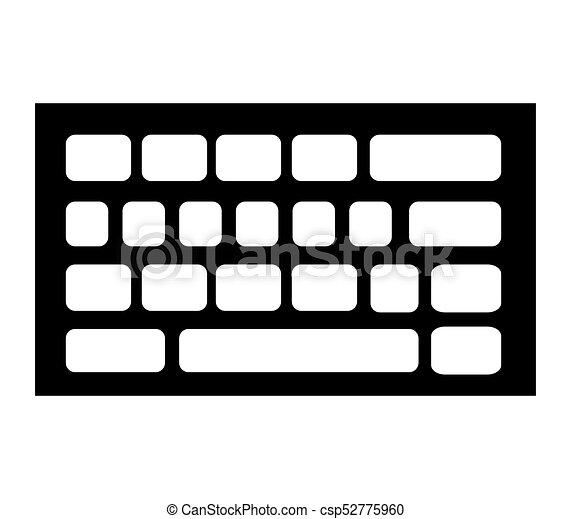 キーボード, アイコン - csp52775960