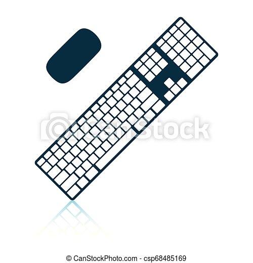 キーボード, アイコン - csp68485169