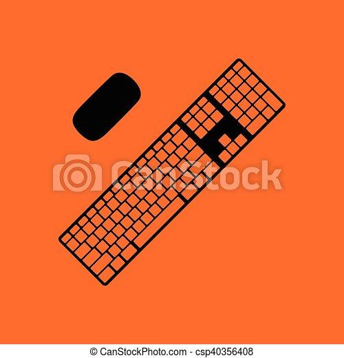 キーボード, アイコン - csp40356408
